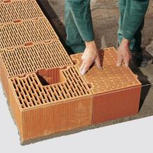 pose de briques monomur